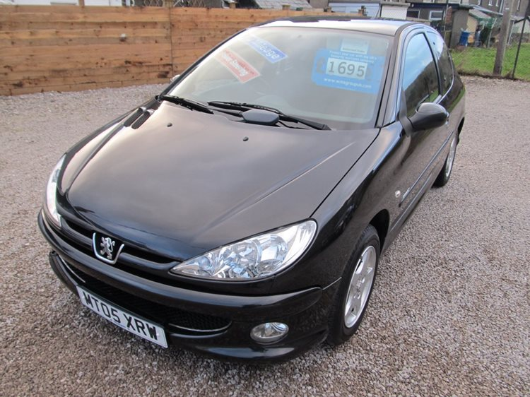 NOW SOLD Peugeot 206 1.4 Sport 5 Door Hatchback in Black