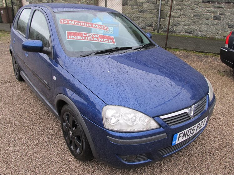NOW SOLD Vauxhall Corsa 1.2 SXi 5 Door Hatchback in Blue Metallic