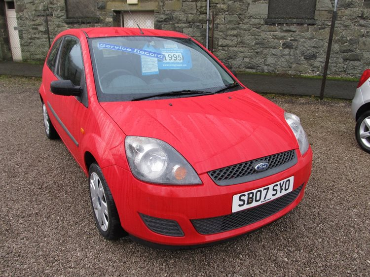 NOW SOLD Ford Fiesta 1.25 Style 3 Door Hatchback in Red