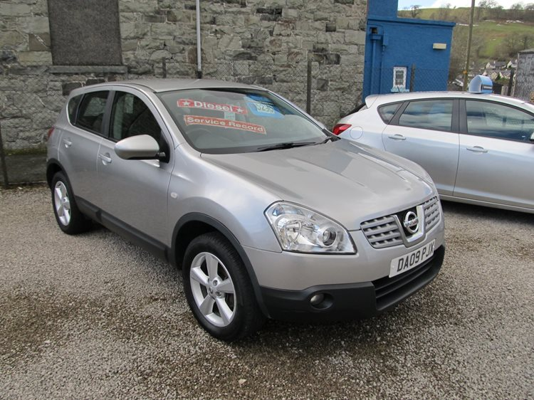 NOW SOLD Nissan Qashqai 1.5DCi 2WD Acenta 5 Door MPV in Silver