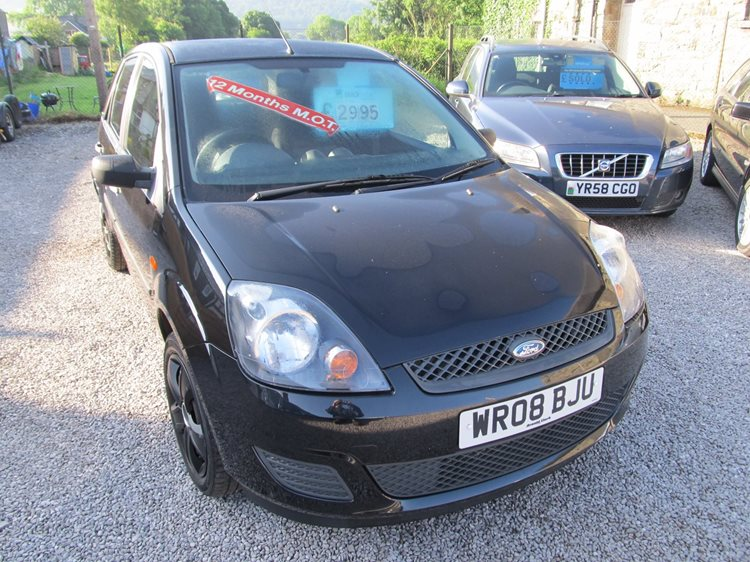 Ford Fiesta 1.2 Style 5 Door Hatchback in Black Metallic
