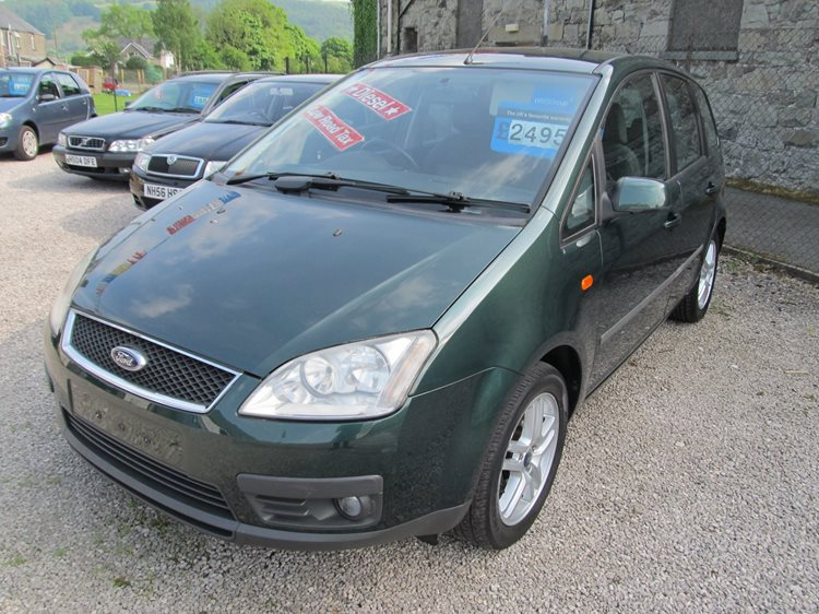 NOW SOLD Ford Focus C-MAX 2.0TDCi Zetec 5 Door MPV in Green Metallic