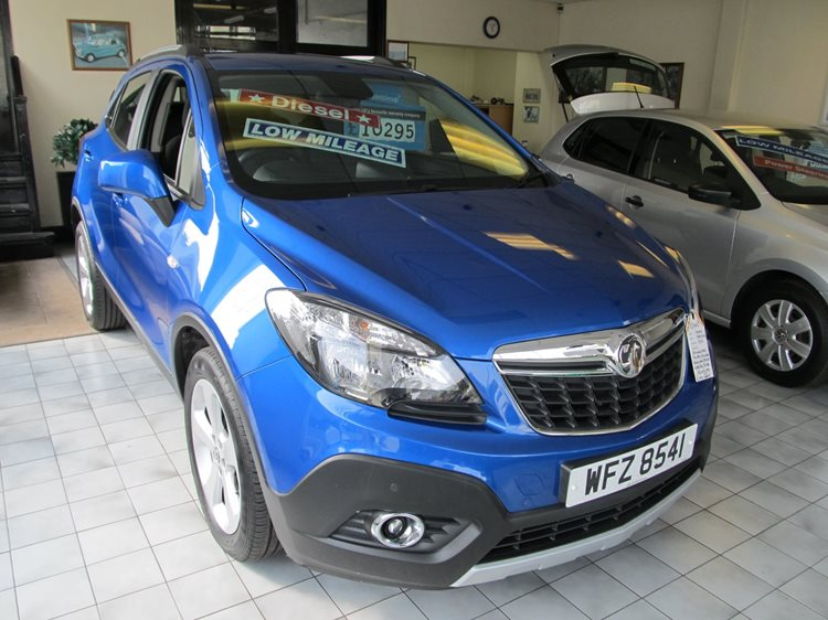 Vauxhall Mokka 1.7CDTi Tech Line 2WD 5 Door in Blue Metallic
