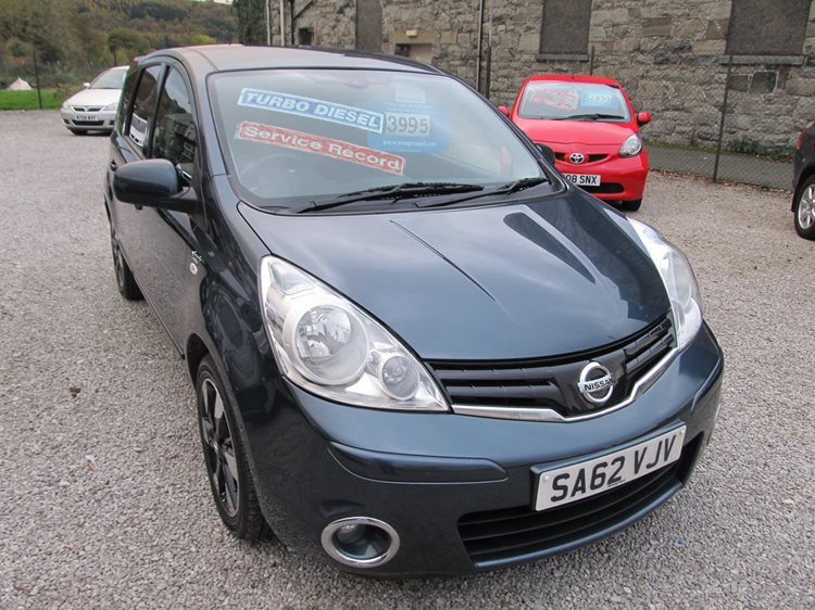 Nissan Note 1.5dci N-TEC + 5 Door MPV