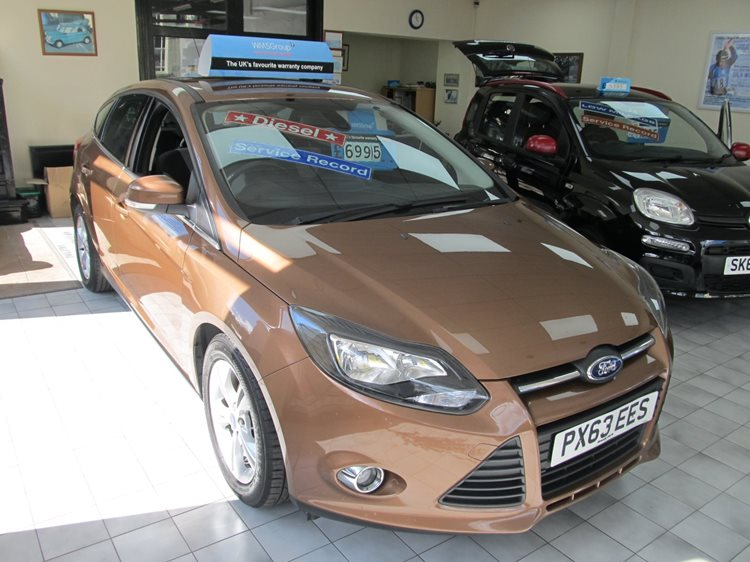 NOW SOLD Ford Focus 1.6TDCi Zetec 5 Door Hatchback in Brown Metallic