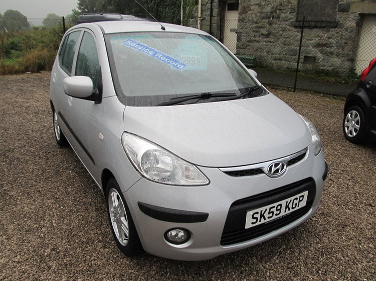 NOW SOLD Hyundai i10 1.2 Comfort 5 Door Hatchback in Silver Metallic