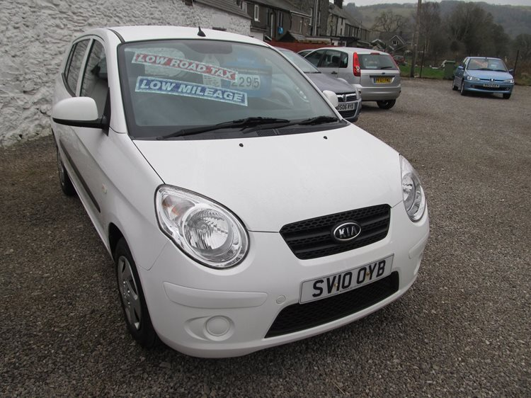 Kia Picanto 1.0 Picanto 1 5 Door Hatchback in White