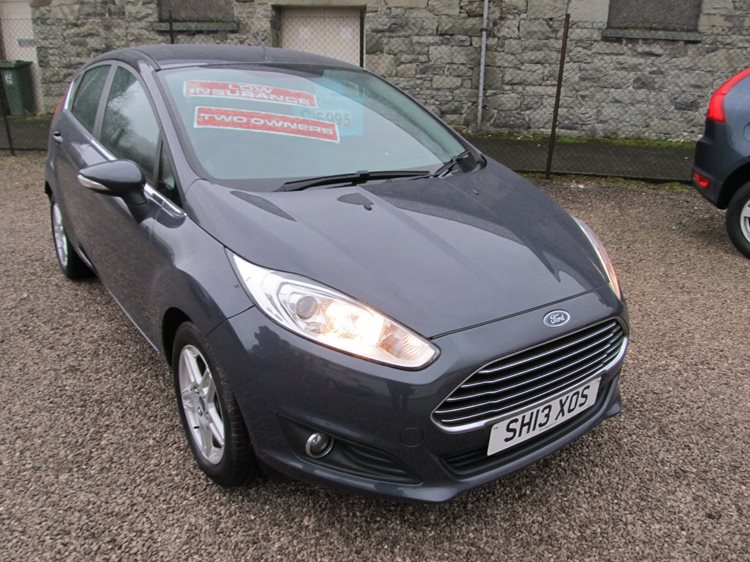 NOW SOLD Ford Fiesta 1.25 Zetec 5 Door Hatchback in Grey Metallic