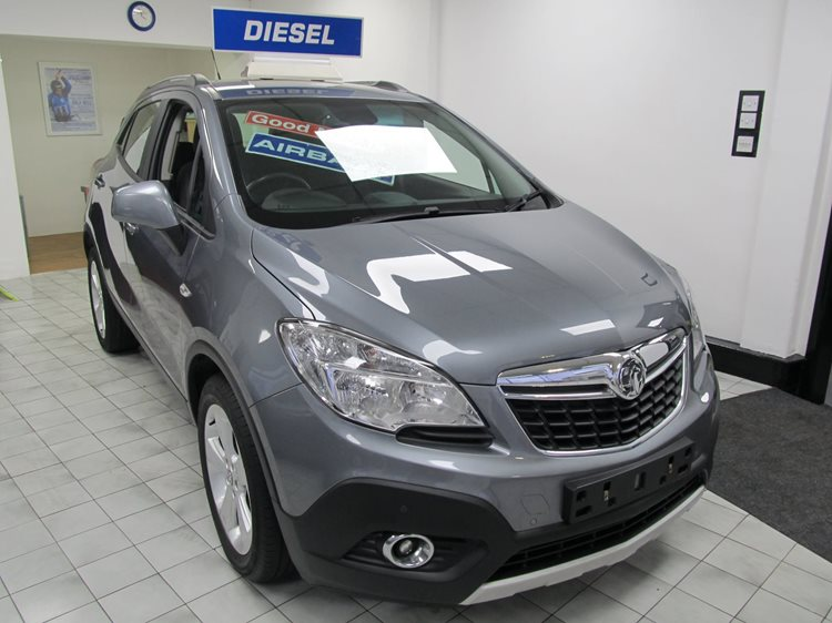 NOW SOLD Vauxhall Mokka 1.7CDTi 130ps ecoFLEX Exclusiv 5 Door MPV in Grey
